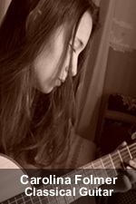 Carolina Folmer, Classical Guitar Instructor