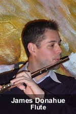 James Donahue, Flute Instructor