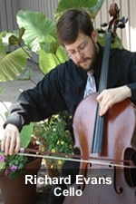 Richard Evans, Cello Instructor