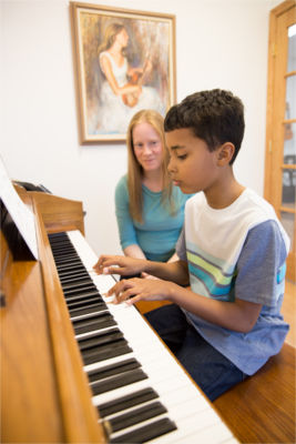 Pity, that Piano lesson for adult speaking