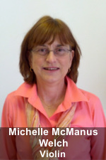 Michelle McManus Welch, Violin Instructor