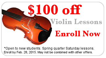 Violin Lessons Promotion