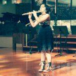Knight Music Academy flute student