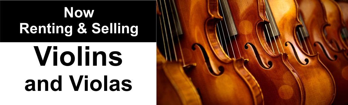 Violin and Viola Rental